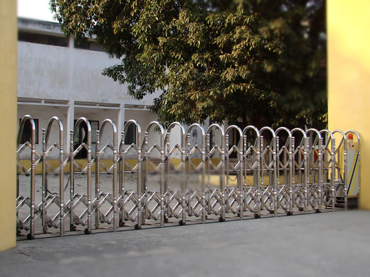 cung cấp cổng xếp inox cổng điện inox