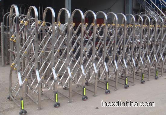 cong dien inox -Cổng xếp inox